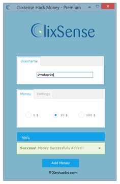 Clixsense Hack Money – Premium Cheat 2016 tool download. With updated Clixsense…