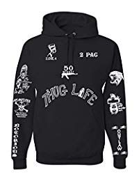 All Eyez on Me Tattoo Unisex Tattoo Hooded Sweatshirt (Limited Edition) XL Black 2pac Tattoos, All Eyez On Me, Mens Fashion Magazine, Fashion Wear, Hooded Sweatshirts, Fashion Hoodies, Unisex, Sweaters, Clothes
