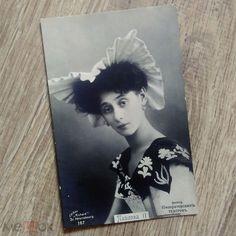 Anna Pavlova in 'Javotta' Imperial ballet, Russian postcard