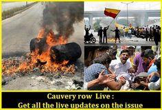 Cauvery row  Live : Get all the live updates on the issue  http://uffteriada.com/cauvery-row-live-chief-minister-calls/