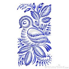 Folk Bird Ornament Stock Photos, Images, & Pictures – (560 Images)