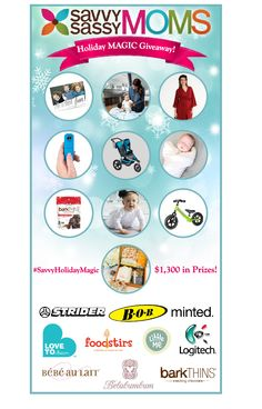 Holiday Magic Giveaway great gifts for mom to be, baby, toddler and even tweens