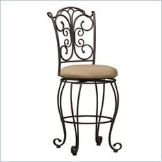 Linon Marino 30 in. Slat Back Bar Stool. Show off your love of country elegance with theLinon Marino 30 in. Slat Back Bar Stool. Full of charm and beauty, this stool is a gorgeous addition to your dining area.