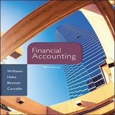 Perfect for accounting course that 77 Free Test Bank for Financial Accounting 16th Edition by Williams which is designed for students of accounting who can refresh their knowledge of financial accounting. Also, it consists of lots other free textbook financial accounting test bank and full prompt answers for students who can check their understanding.