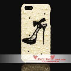 Free Shipping Black  High Heel Shoes Luxury Sparkling door DanceHand, $10.99