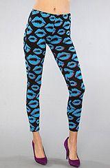 The Lips Legging #shopcade #fashion #karmaloop #style  #legging #lips