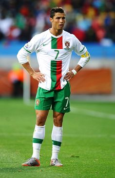 aeeffdd19 Cristiano Ronaldo of Portugal looks thoughtful during the 2010 FIFA.