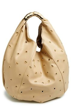 Tan and gold always look good together | 'Holy' Faux Leather Hobo
