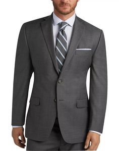 58d5f3c055a1 Gray Sharkskin Suit - Men's Suits - Lauren by Ralph Lauren | Men's Wearhouse  #Menssuits