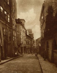 """Old Town disctrict of Warsaw, Poland, Photographs published in the magazine """"Światowid"""", [source]. Warsaw Old Town, Warsaw Poland, Old City, Aesthetic Vintage, Cool Items, Capital City, City Photo, Castle, Street"""