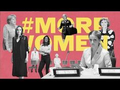 "Watch what happens when men are Photoshopped out of politics - by Elle magazine - ""There are too many instances where women are represented by a single female. In business, music, art and media, women rarely outnumber men. Marketing, Intersectional Feminism, Elle Magazine, Single Women, Thought Provoking, A Good Man, Photoshop, Shit Happens, Guys"