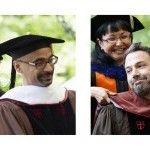 Junot Díaz recibe doctorado junto con Ben Affleck vía @BureoRD
