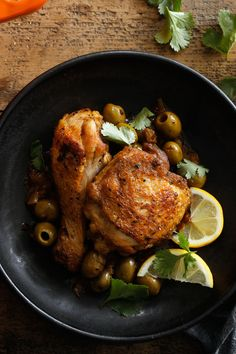 The dish here, a classic Moroccan chicken sauté, is astonishing for its complexity. It features sweet spices like cinnamon and ginger offset by garlic and paprika. But what makes it a real winner is the combination of those flavors with lemon and green olives, both of which have a mouth-puckering quality that, combined with the spice mix, is enchanting. (Photo: Craig Lee for NYT)