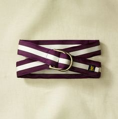 Rugby - Grosgrain Ribbon Belt