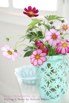 Heart Handmade UK: Beautiful Styling and Photography from Chihiro Kubota My Flower, Fresh Flowers, Flower Vases, Flower Pots, Pink Flowers, Beautiful Flowers, Beautiful Bouquets, Happy Flowers, Cactus Flower