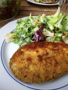 Küchenmamsell: Panierte Aubergine