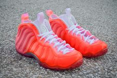 "Nike Air Foamposite One ""Floridian Glow"" Customs by DMC Kicks"