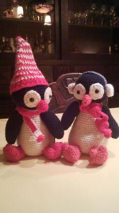 pinguin hier gevonden http://theageingyoungrebel.com/amigurumi-penguin-pattern/