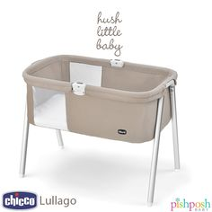 Need another bassinet for baby at home or on the go? The Chicco Lullago has you covered! Lightweight but strong and sturdy, this sleek little thing has mesh peekaboo windows, comfortable mattress, assembles in under a minute, and comes with its own carrying case. Weight capacity: 20 lbs!Just $99.99! Available in Acorn (shown) or Pistachio. www.pishposhbaby.com/chicco-lullago-travel-cribs.html