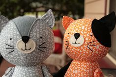 New cat sewing pattern by ric rac, via Flickr