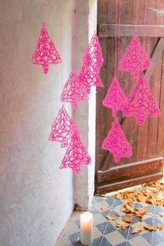 Crochet tutorial for granny tree