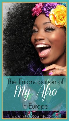 Are you a black woman with natural hair? Do you constantly worry about how you are going to style your hair when you plan a vacation? Check out this post about how I felt completely liberated wearing my afro in Europe.   Find more on www.thirty30courtney.com