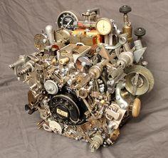The Chromatalyphogen - http://www.thayerdemay.com/sculpture/tabletop-art-chromatalyphogen.php