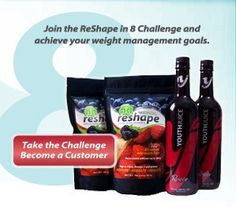 Join the Reshape in 8 Challenge and Achieve your weight management goals! www.sdgould.youth juice.com username: sdgould Juice Bottles, Weight Management, Username, How To Become, Youth, Join, Challenges, Goals, Drinks