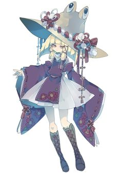Fantasy Character Design, Character Design Inspiration, Character Concept, Character Art, Witch Characters, Girls Characters, Anime Characters, Anime Witch, Atticus