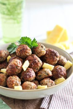 Pineapple Meatballs - will probably alter slightly as I do not require them to be Paleo.