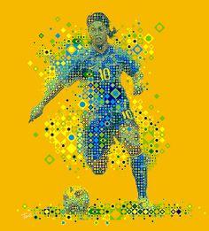 Ronaldinho: Brazil 2010 (2) by tsevis, via Flickr Soccer Art, Soccer Poster, Football Icon, Football Soccer, Basketball, Brazilian Soccer Players, Brazilian Men, National Football Teams, Sports Day
