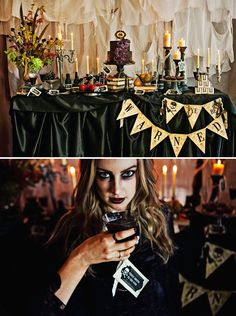 halloween inspired wedding cakes