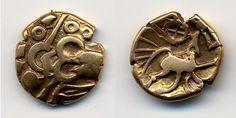 Belgian Celtic coin - nerviens statere