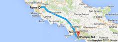 From: Rome, Italy To: Pompei NA, Italy