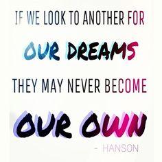 """Scream and Be Free"" Hanson Lyrics"