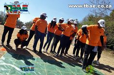 VFS Global Tribal Survivor team building event in Fourways, facilitated and coordinated by TBAE Team Building and Events Team Building Exercises, Team Building Events, Basketball Court, Baseball Cards, Sports, Hs Sports, Excercise, Sport, Exercise