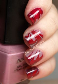 Simple Easy Nail Art Designs Ideas For Girls 2013 2 Simple & Easy Nail Art Designs & Ideas For Girls 2013