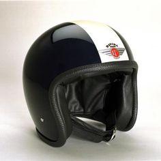 Davida speedster Helmets:  two tone Black,White  Product Code: 90221