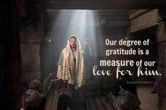 """""""Some people are oblivious to their Creator and their true 'bread of life.' They live from day to day without an awareness of God and His goodness unto them. How much better it would be if all could be more aware of God's providence and love and express that gratitude to Him."""" From Elder Nelson's http://pinterest.com/pin/24066179230963800 April 2012 http://facebook.com/223271487682878 message http://lds.org/general-conference/2012/04/thanks-be-to-god"""