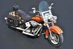 My build of the paper model Harley Davidson