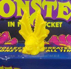 Monster in my Pocket - Series 1 - 20 Catoblepas - Yellow - Premium - MEG My Pocket, Yellow, Ebay