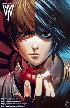 L Lawliet & Light Yagami/Kira (Death Note) Manga Anime, Film Anime, Anime Art, I Love Anime, Anime Guys, Wizyakuza Anime, Death Note デスノート, Death Note Light, Otaku