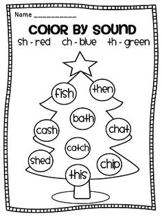 Color by DIGRAPH! Such a FUN and effective way to work