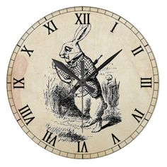 Alice in Wonderland Victorian | graphic is the white rabbit from alice in wonderland