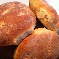 Bread Recipes, Baking Recipes, Grandma Cookies, Homemade Dinner Rolls, Our Daily Bread, Cakes And More, Creative Food, Bread Baking, Hot Dog Buns