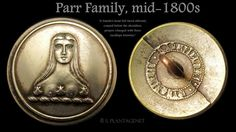 "Looking for more information related to this ""Parr"" family button. Sharing from Livery Buttons and Badges on FACEBOOK. #buttonlovers"