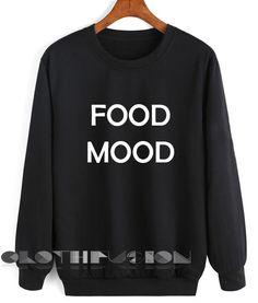 Unisex Crewneck Sweatshirt Food Mood Design Clothfusion