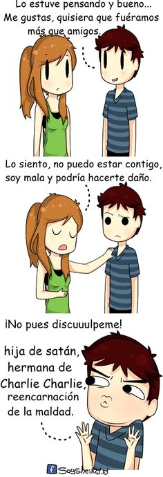 Aw, sorry, I can't be your girlfriend ^_^
