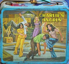 Charlie's Angels Lunchbox~ I loved Charlie's Angels, as a kid!!