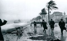 Jacques-Henri Lartigue's photograph of a storm in Nice in February 1915